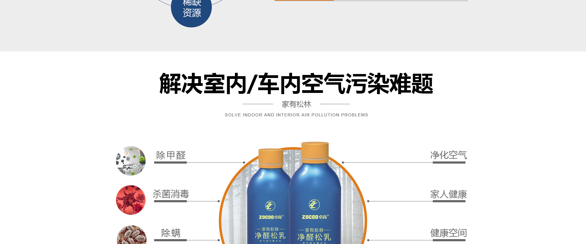 净醛松乳-空气净化雾化剂